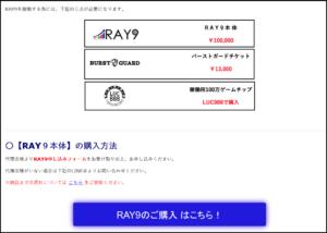 ray9の評判とray9代理店!そしてRAY9の投資で必読の情報