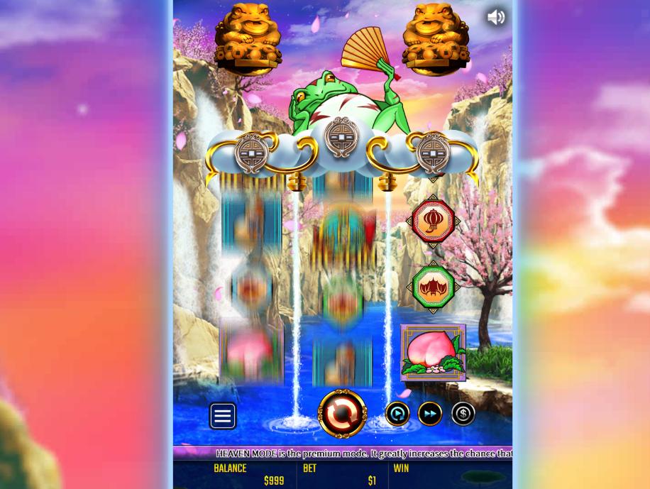 金蛙神といえば無料スロットマシンゲーム