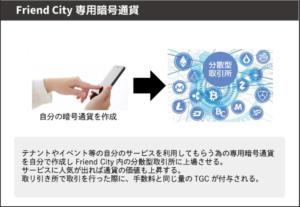 Friend City専用暗号通貨