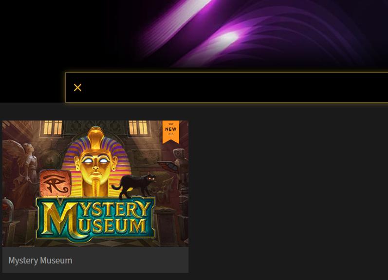 スロットマシンゲーム Mystery Museum