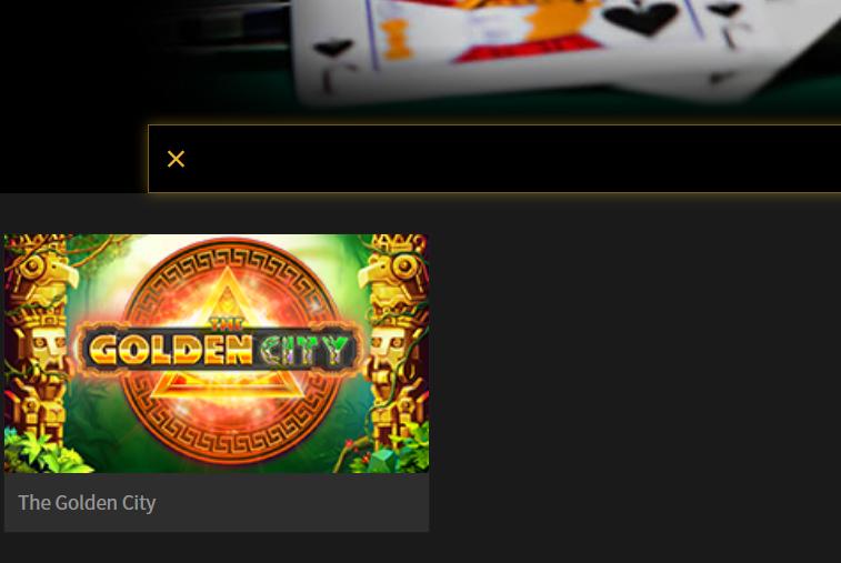 スロットマシンゲーム The Golden City