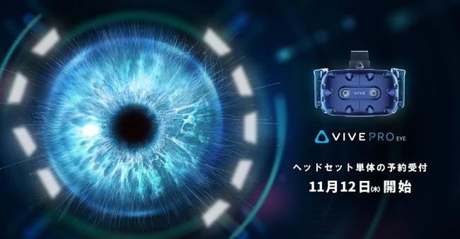 アイトラッキング機能つきVIVE Pro Eyeの使用例