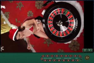 ミニーカジノのクリスマス(セクシールーレット)