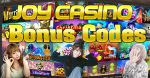 ジョイカジノのボーナスコード(joycasino bonus code)と評判
