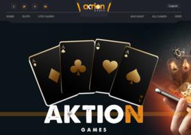 AKTION Game Casinoへ登録