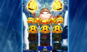 オンラインカジノのスロット ゴールデンドリーム(ドリームオブゴールド)について
